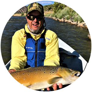 Photo: Proudline Guided Flyfishing Guide Ivan Perrin