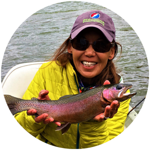Photo: Proudline Guided Flyfishing Owner Lani Kitching