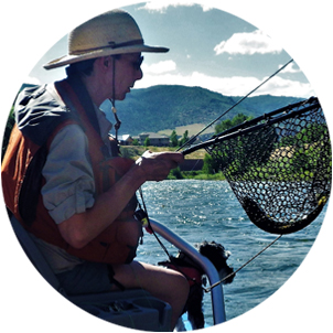 Photo: Proudline Guided Flyfishing Guide Paula Fothergill